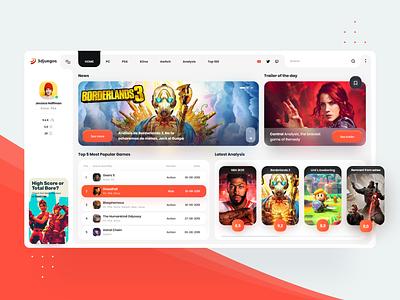 3Djuegos Desktop App Web 🎮💎 homepage app web design app design dashboard games dailyui website webdesign interface web landing clean design minimal ux ui