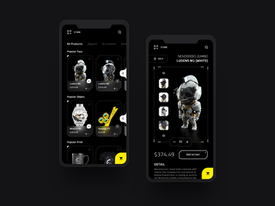 Death Stranding Store Dark 🖤 adobe xd fluent store design landing desktop webdesign interface web clean minimal ux uidesign uiux app death stranding