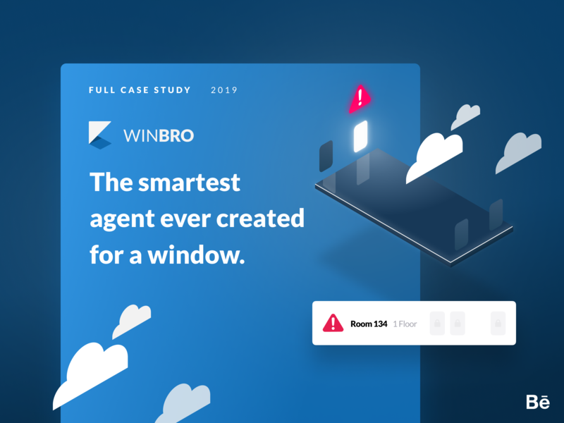 Winbro – Full Case Study illustration isometric iot windows dashboard tablet mobile app ui ux time dynamic daytime night daylight