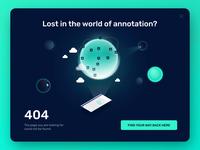 404 page – Graphotate