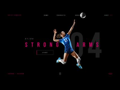 Web Sports Volley Shop