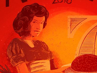 Tatar beef poster luksy procreate ipad ipadpro applepencil poster illustration