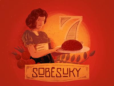 Tatar beef poster illustration procreate poster luksy ipadpro ipad illustration applepencil