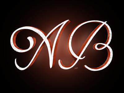 AB typedesign czech caligraphy handmade applepencil ipadlettering type lettering
