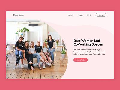 Hero section homepage hero website web ux ui design