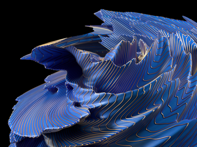 Playing with Porcelain cinema 4d 3d