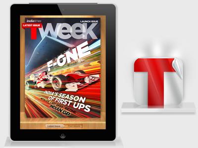 An iPad Magazine launched sometime ago ipad magazine ui ux icon