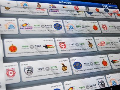 Official DLF Indian Premiere League App sports cricket ipad ipl