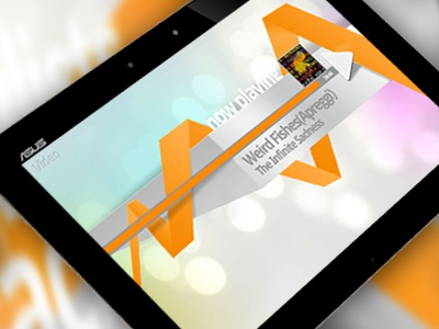 3D music player - Play part 3d music player android ui tablet
