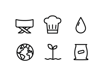 Some Food-Related Icons