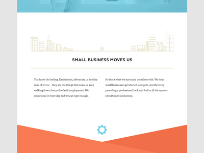Small Business Moves Us