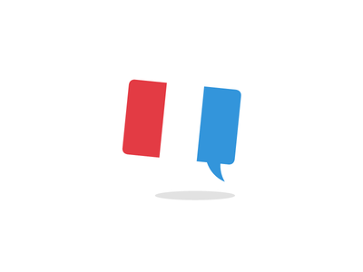 Girlfriend's French Tutoring Logo french tutor comment bubble france