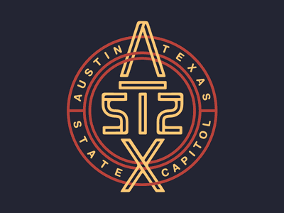 ATX 512 Reflection Ambigram optical illusion typography script type letters words
