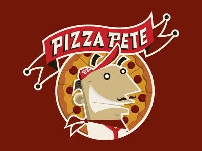 Pizza Hut WingStreet Baseball Patch and Jersey banner baseball cap baseball bat vector cute funny baseball jersey character mascot pepperoni chef pizza illustration design