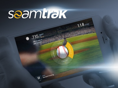 SeamTrak | Early Interface Concept design ux ui interface game app