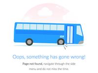 Page not found by Vou de ônibus