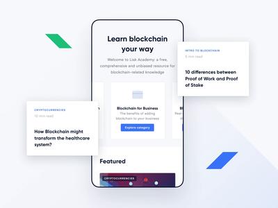 Lisk Academy #2 ui ux mobile cryptocurrency blockchain