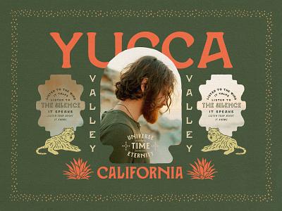 CAMINO Southwest design vintage boho california yucca southwest tipography retro old type handmade font
