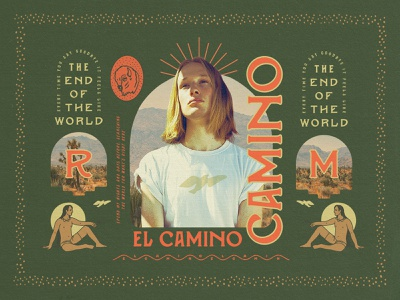 CAMINO Font Collection design texas california mezcal mexico southwest typography hipster type retro old handmade font