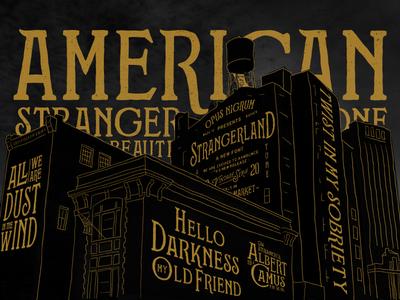 Strangerland Font Buildings