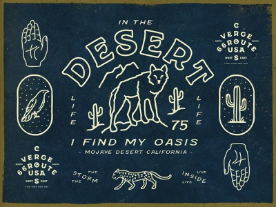 Hand Crafted Font raven mexican desert tiger cactus wolf design tipography font handcrafted hand crafted illustration type denim traditional hipster vintage retro old handmade