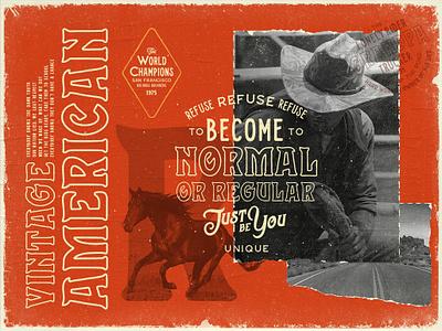 Stranger Font By Opus Nigrum cowboy horse stranger american handcrafted typography western logo design label denim type traditional hipster vintage retro old handmade font