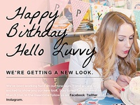 Hello Luvvy Landing Page