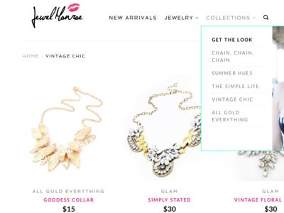 Jewel Monroe Landing Page uiux htmlcss graphic design wordpress