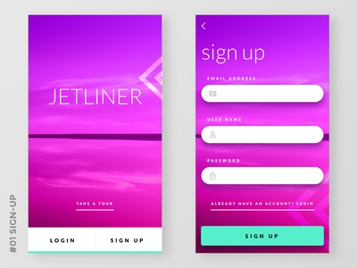 Daily UI #001 Sign up splash sign up mobile user interface uiux dailyui