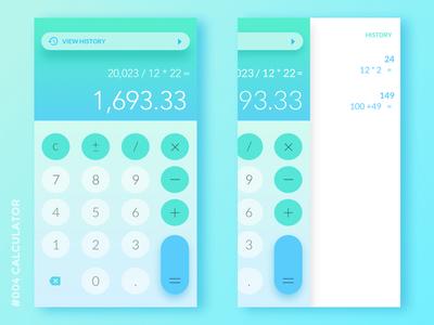 Daily UI #004: Calculator calculator mobile user interface uiux dailyui