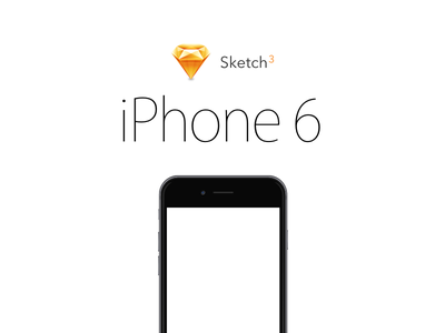 iPhone 6 Sketch Template iphone 6 sketch vector scalable resources free illustration 750 x 1334