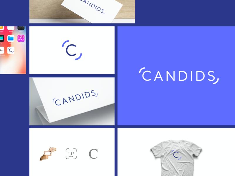 Candids - Logo Design turkey istanbul logo design brand identity branding logo candids