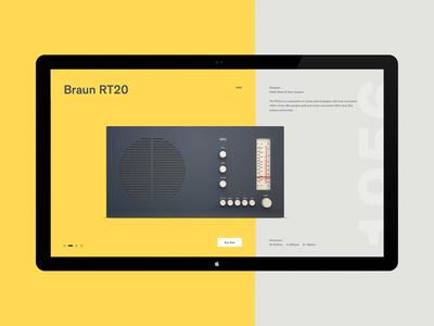 Braun R20