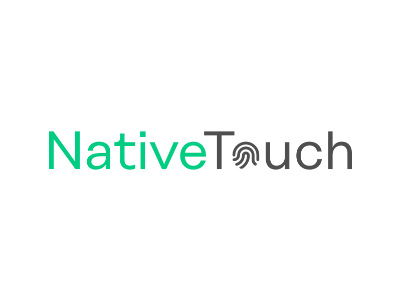 Native Touch technology print finger native brand logo