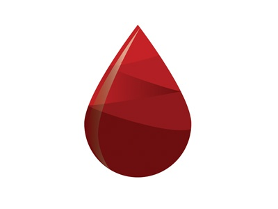 Hemophilia identitiy adobe illustrator logo hemophilia drop blood