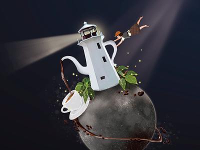 planet planet art illustration digital graphic design creative character cartoon 2d