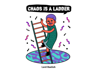 Game of Thrones-Lord Baelish graphic graffiti art illustration digital design creative character cartoon 2d