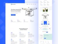 Drone shop landing page