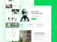 Gear 360º - Product Landing Page