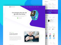 Watch landing page