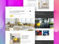 Furniture Collection website