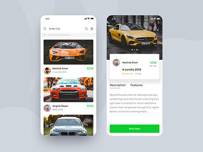 Car booking app awesome car clientwork clean ui ios app app app design travel app creative trend 2019 car search photography car-booking car