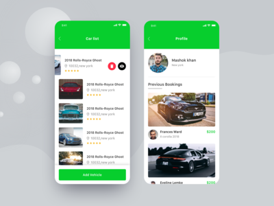 Car booking app #2