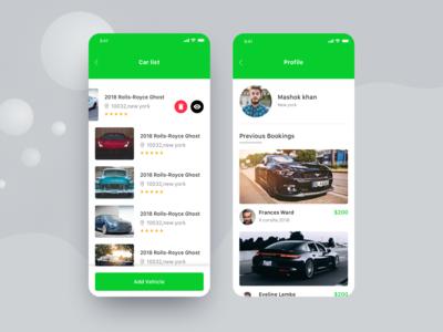 Car booking app #2 ux minimal car car-booking photography car search trend 2019 creative travel app app design app ios app ui clean clientwork awesome car