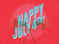 July 4th Holiday Graphic