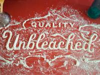 Unbleached