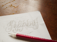 Peppery sketch for site