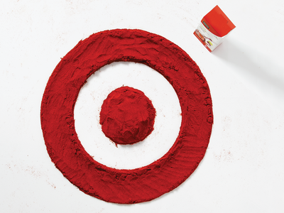 Target's Food for Thought  target bullseye food for thought food food typography typography lettering hand lettering red