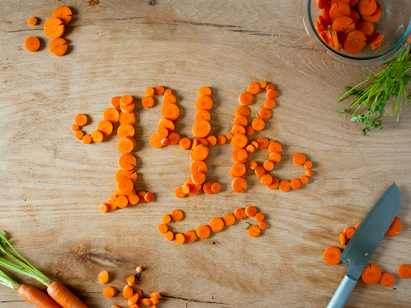 14k Food Typography food typography food lettering 14 14k carrot orange food type typography type lettering hand crafted