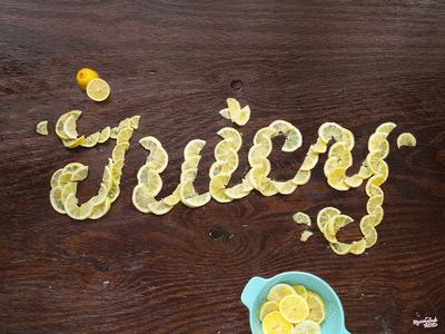 Juicy Lemon Typography